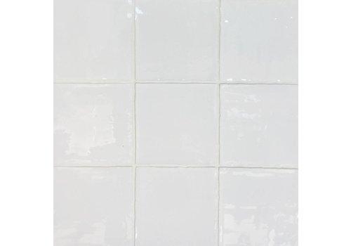 Wandtegel: Dreamtile Handmade glossy Wit 13x13cm