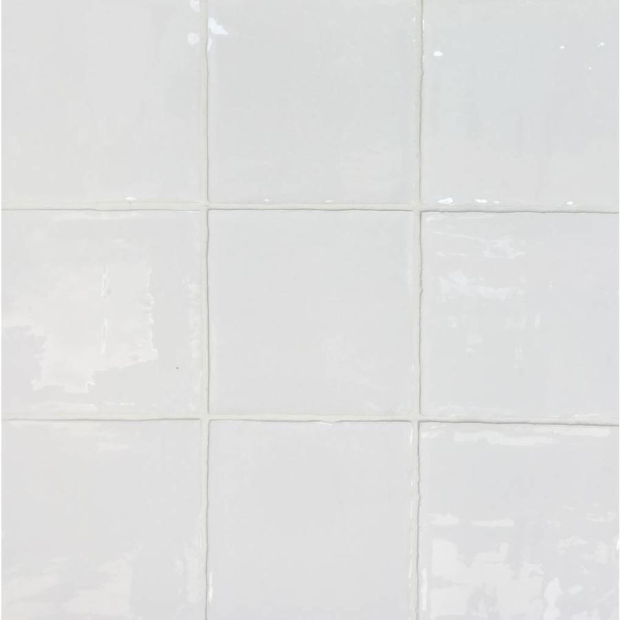 Dreamtile handmade glossy 13x13 wt white