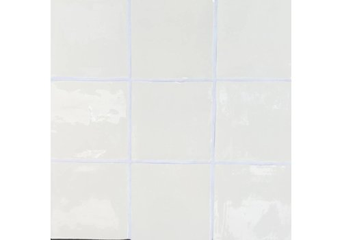 Dreamtile handmade glossy 13x13 wt cream