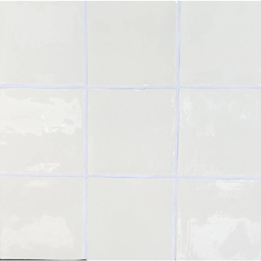 Wandtegel: Dreamtile Handmade glossy Beige 13x13cm