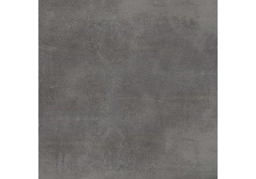Vloertegel: Stargres Stark Zwart 75x75cm