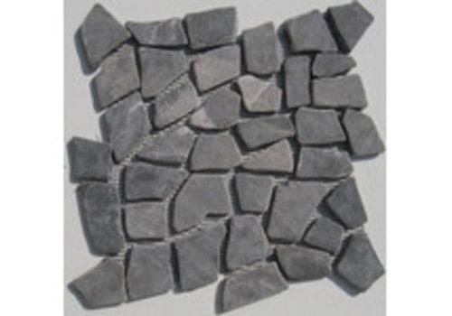 Mozaik 30x30x1,2 cm interlock crazy grey