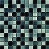 Dekostock Dekostock malla christal 29,8x29,8 gris brillo mozaiek