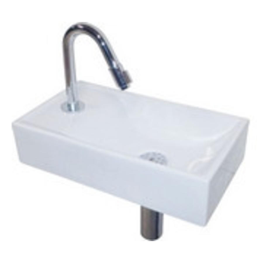 LW Quadro fonteinpack 41x10x22 cm wit rechts compleet