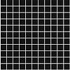 Cinca Cinca M Porcelanico 0140 RFV 30x30 mosaico RFV black (2,5x2,5)