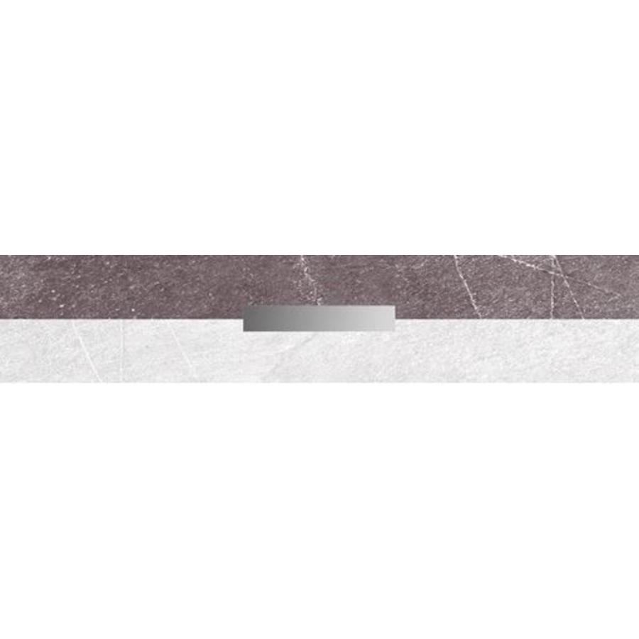 Strip: Cinca Pulsar Grijs 4x25cm