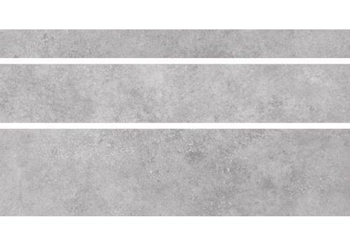 Vloertegel: Nordceram Gent Grijs 15x60cm
