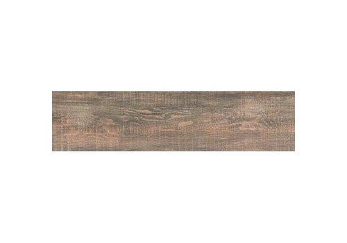 Vloertegel: Nordceram Gate Bruin 22x90cm