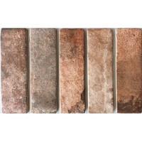 Brick: Cinca Brick Road Bruin 7,5x25cm