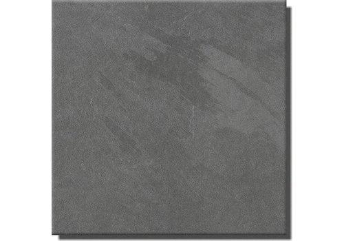 Vloertegel: Steuler Slate Grijs 75x75cm