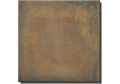 Vloertegel: Steuler Terre Rood 75x75cm