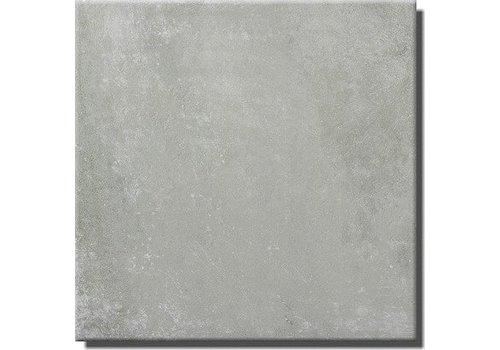 Vloertegel: Steuler Terre Grijs 75x75cm