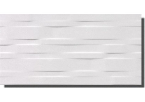 Decor: Steuler Urban Wall Wit 25x50cm