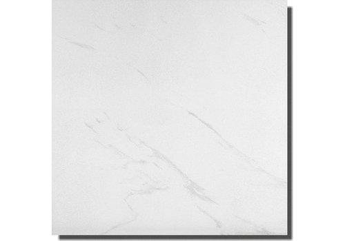 Vloertegel: Steuler Marble Wit 75x75cm