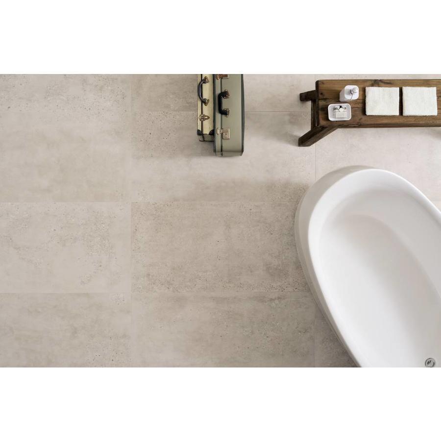 Vloertegel: Fioranese Concrete Wit 60,4x60,4cm