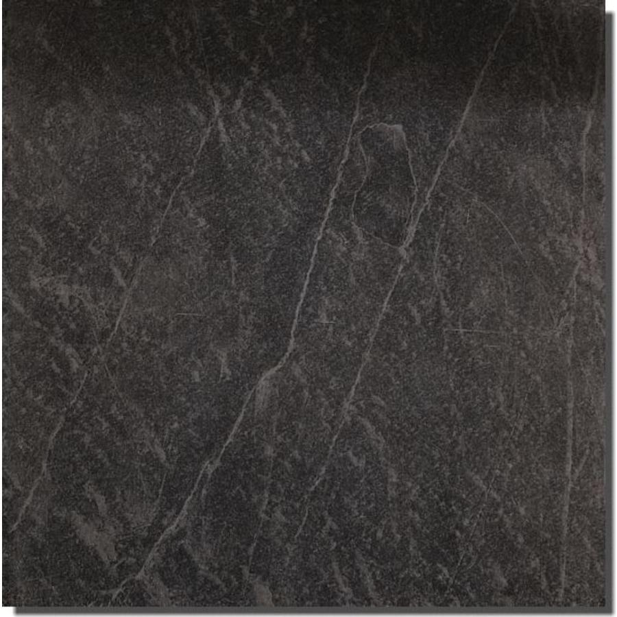 Vloertegel: Edimax Arkesia Zwart 79,7x79,7cm