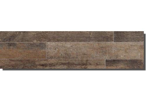 Vloertegel: Edimax Select Bruin 14,4x100cm