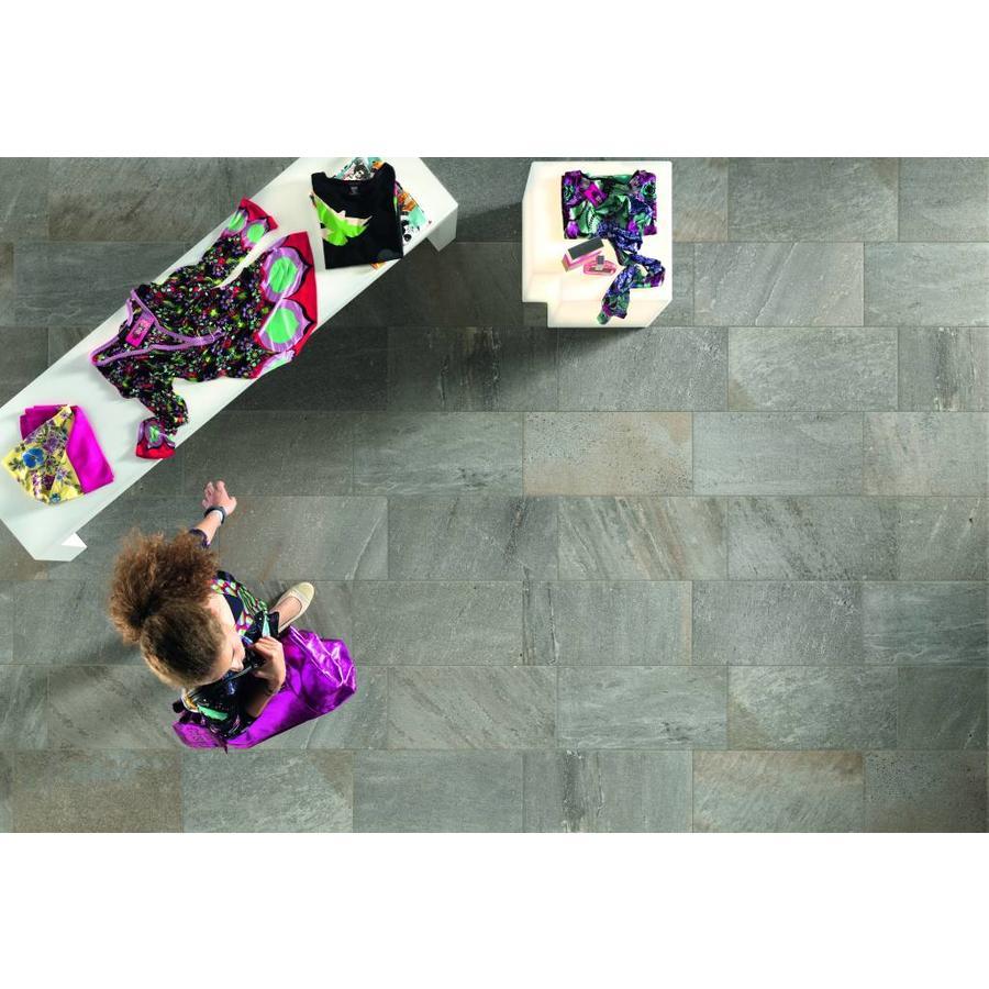 Vloertegel: Edimax Quartz Design Grijs 30x60cm