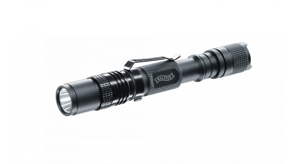 Walther RLS250 LED flashlight with rotary switch