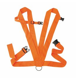 Allen Deer Drag - 2 Shoulder Strap - orange