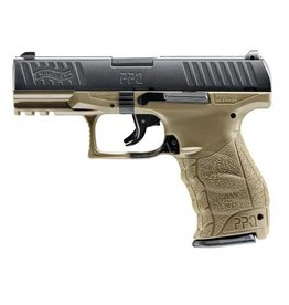 Walther PPQ - Federdruck - 0,50 Joule - dark earth