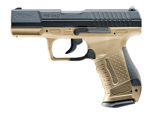 walther p99 dao co2 gbb 2 0 joule dark earth blacktac e store