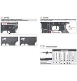 Oberland Arms OA-15 M4 RIS AEG Komplettset - 0,50 Joule