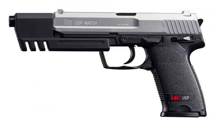 H&K USP Match - Federdruck 0,50 Joule