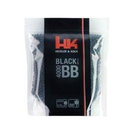 H&K Black Battle Bio BB 0,25 Gramm - 4.000 Stück