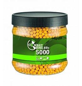 Combat Zone BB 0,12 gram - 5.000 pc - yellow