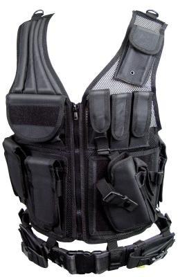 Combat Zone Tactical Combat Vest - BlackTac e-Store e9fccd743a3