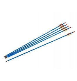 "Armex Aluminum arrow 30"" with screw point- 5 pc"