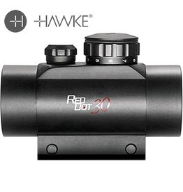 Hawke Green/Red Dot 1x30 mit 22mm Weaver Rail