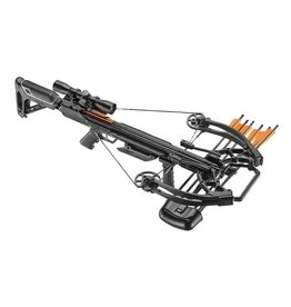 EK-Archery Compound Armbrust X-Bow Ballistic 410 - Set - schwarz