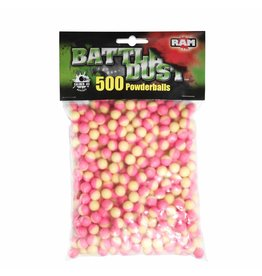 Umarex T4E Battledust Powderballs /Kreidebälle Kal. 43 - 500 Stück - gelb/pink