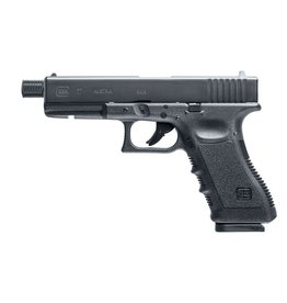 Glock 17 Gen. 3 Co2 Cal. 4,5 mm (.177) BB / Diabolo - Threaded Barrel