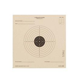 Umarex AirGun AirSoft Zielscheiben ISSF-Standard, 14x14 cm - 1.000 Stück