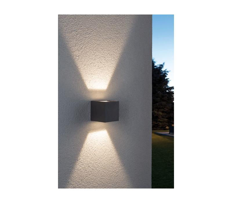 Buitenlamp Cybo LED grijs verstelbare bundel