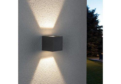 Paulmann Buitenlamp Cybo LED grijs verstelbare bundel