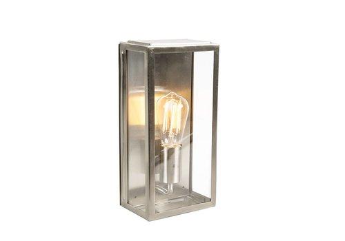 Lamponline Buitenlamp Blaricum wand medium staal