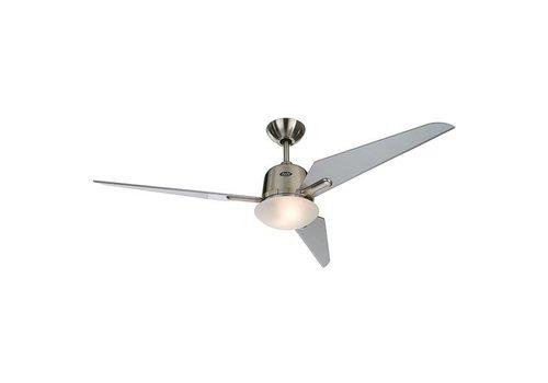 Lamponline Plafondventilator Fly mat-chroom