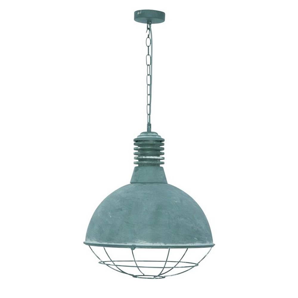 Hanglamp vicenza beton 1 lichts freelight h2450g for Freelight lampen