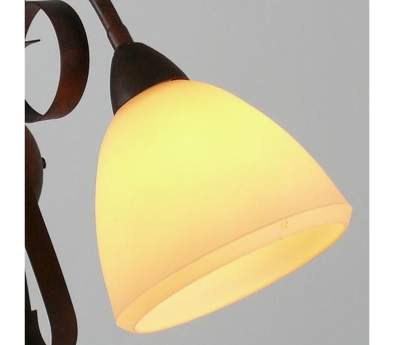 Hanglamp ViaDese 5 lichts rusty