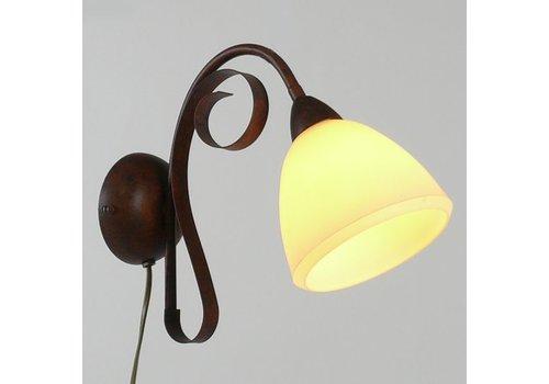 LAM Wandlamp ViaDese 1 lichts rusty