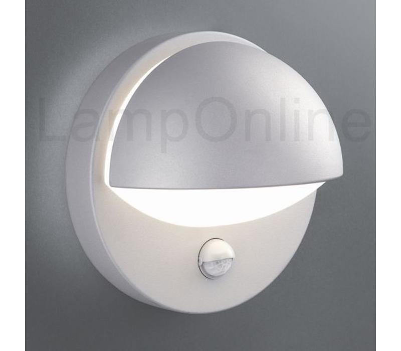 Buitenlamp Reno wand grijs sensor