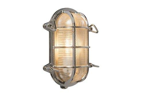 Lamponline Buitenlamp Titanic ovaal chroom