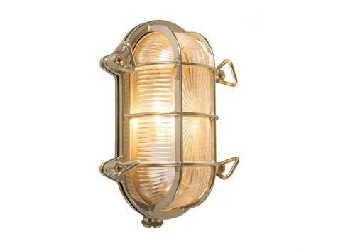 Lamponline Buitenlamp Titanic ovaal messing