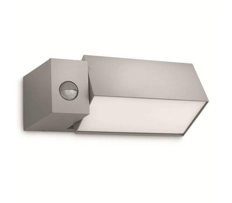 Buitenlamp Border Sensor grijs