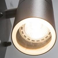 Buitenlamp Sense antraciet LED 1 lichts dag nacht sensor