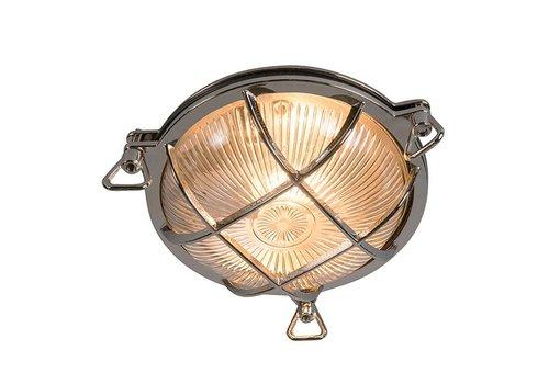 Lamponline Buitenlamp Titanic rond chroom